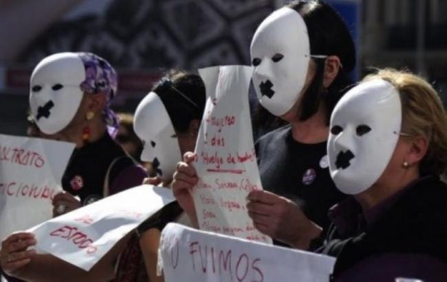 Фото: протест в Мадриде