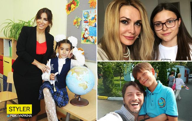 Звездный День знаний: как украинские знаменитости провели своих детей в школу (фото)