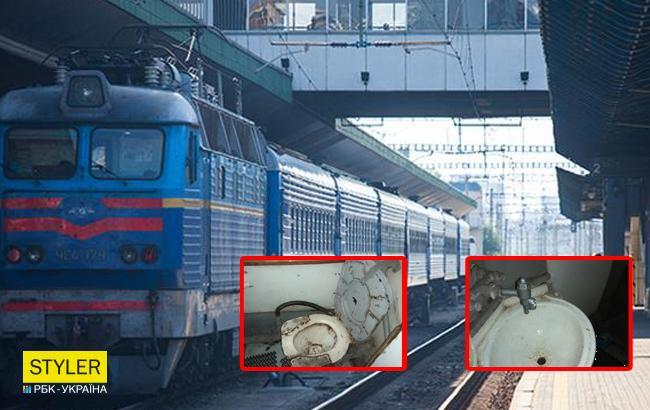 """""""14 часов ада"""": в сети показали возмутительное состояние поезда """"Укразализныци"""" (фото)"""