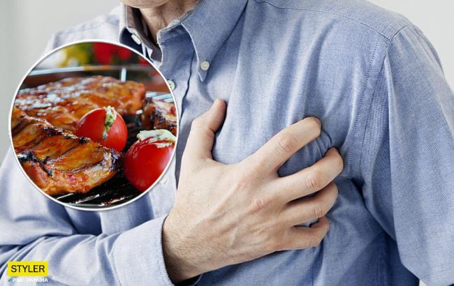 Новые исследования показали, как мясо влияет на заболевания сердца