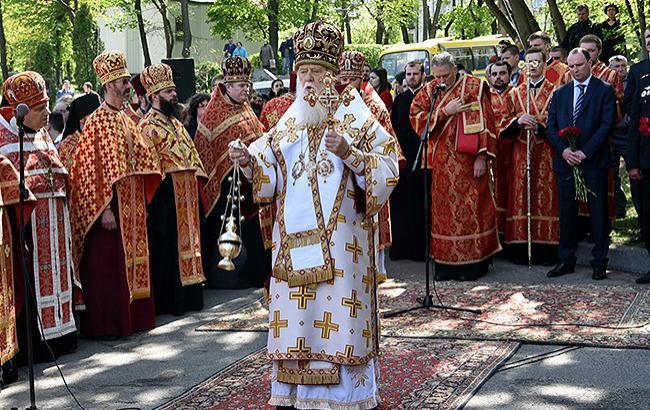 Філарет розказав, якою мовою вестимуть богослужіння після створення єдиної помісної церкви