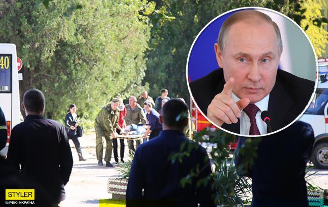 """Вибух у Керчі: Путін вже знайшов """"винного"""" у трагедії"""