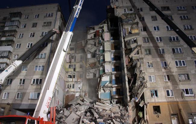 Кількість загиблих через обвал будинку в Магнітогорську зросла до 33
