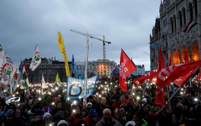 В Угорщині відбувся протест через академічні реформи