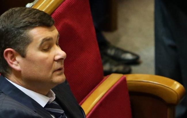 Фото: парламент підтримав затримання Онищенка