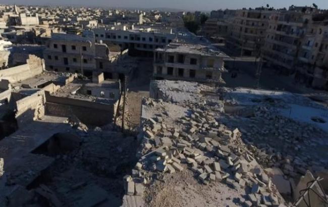 Фото: сирійські урядові війська знову штурмували Алеппо