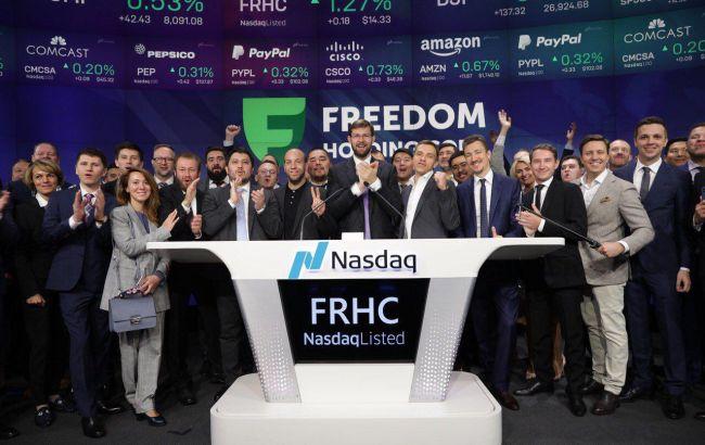 Freedom Holding Corp. провела листинг на бирже Nasdaq