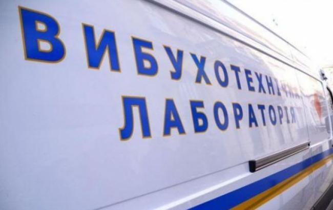 Фото: возле киевского ресторана бросили взрывпакет