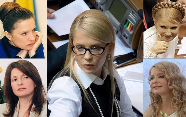 Женщина с косой и без: все прически Юлии Тимошенко