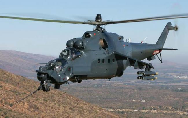 Фото: у Сирії збили не той вертоліт, про який було заявлено раніше
