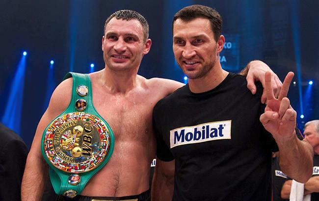 Украинцы Виталий и Владимир Кличко 17 лет удерживали первенство в мировом профессиональном боксе (фото - УНИАН)