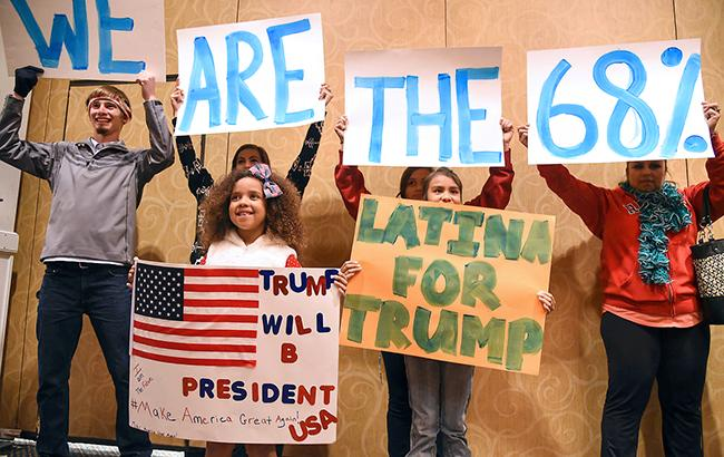 Фото: Дональд Трамп лидирует во Флориде