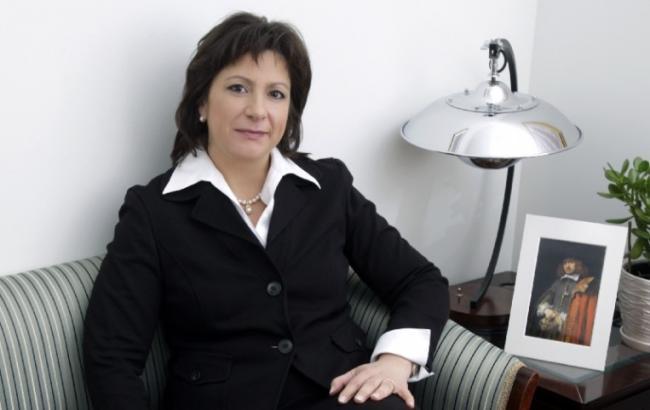 Фото: министр финансов Украины Наталья Яресько