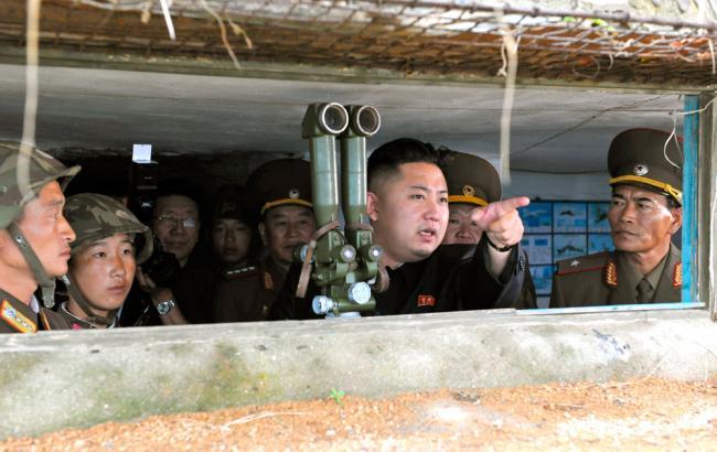 Фото: Пентагон повідомив про невдале випробування балістичної ракети КНДР