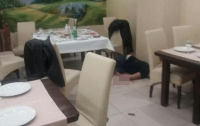 Задержанный за стрельбу в ресторане на Оболони полностью признал свою вину