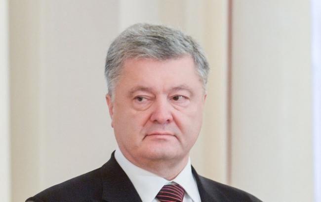 Порошенко попросив у Онуфрія допомоги для звільнення українських моряків