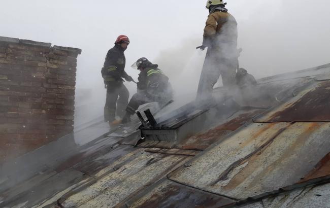 В полиции сообщили подробности пожара в больнице во Львове