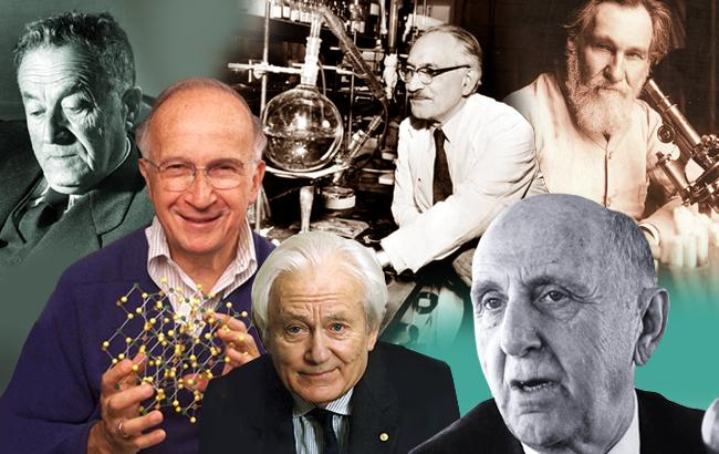 Фото: Лауреаты Нобеля (коллаж Styler.rbc.ua)