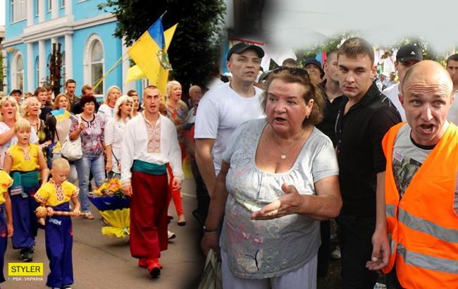 На Донбассе избили патриотов (Коллаж РБК-Украина)