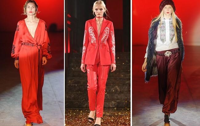 Обзор коллекций Ukraine Fashion Week. День 7 – этюд в багровых тонах