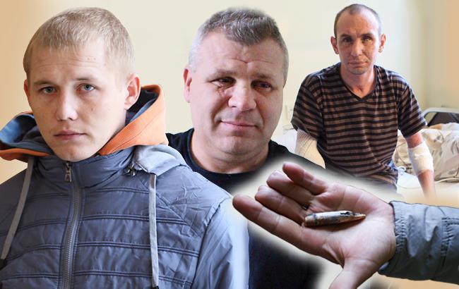 Фото: Андрей, Николай, Роман и Игорь - настоящие герои, пережившие все ужасы войны (Коллаж Styler.rbc.ua)