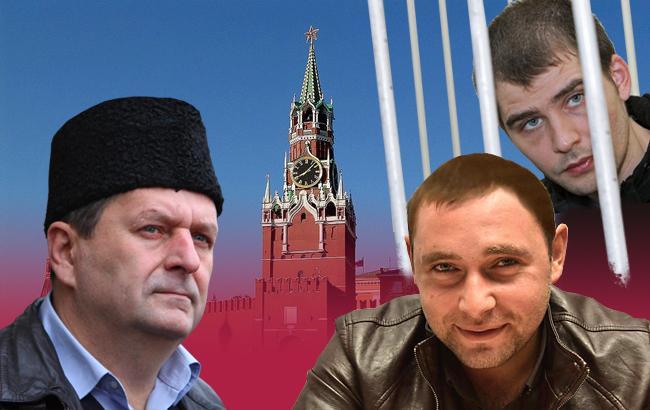 Фото: В'язні Кремля, про які рідко згадують ЗМІ (Колаж РБК-Україна)