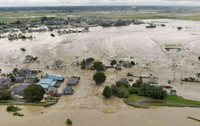 Фото: наводнение в Японии