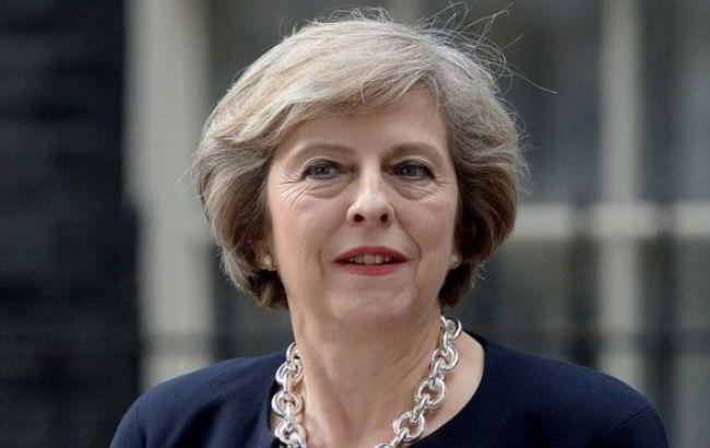 Фото: прем'єр-міністр Британії Тереза Мей