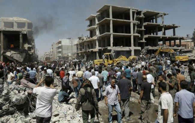Фото: ИГИЛ совершило теракт в подконтрольном курдам городе