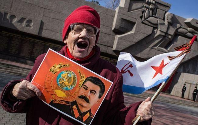 Фото: Не все россияне хотят видеть Сталина в Сургуте (bbc.com)