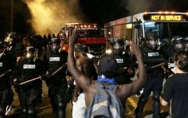 Фото: беспорядки в США