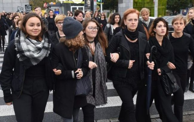 Фото: у Польщі пройде другий загальнонаціональний страйк жінок