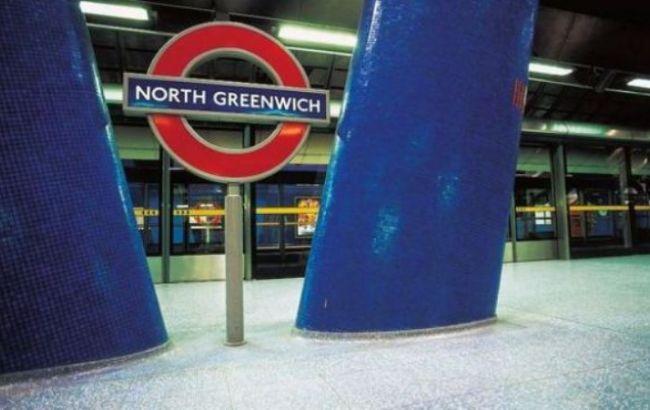 Фото: станція метро North Greenwich