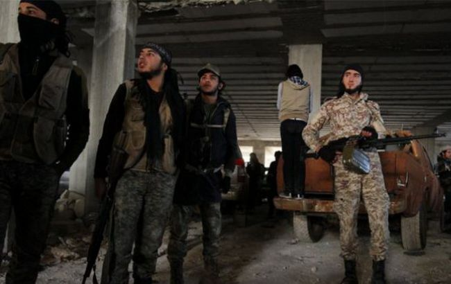 Фото: повстанцы в Алеппо