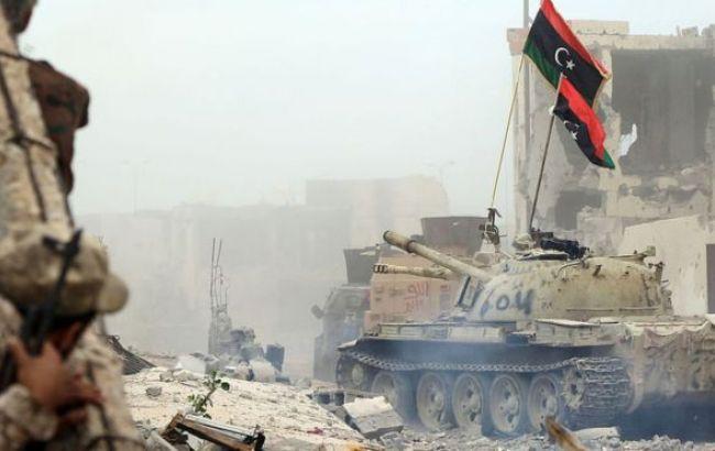 Ливийские правительственные силы выбилиИГ изСирта
