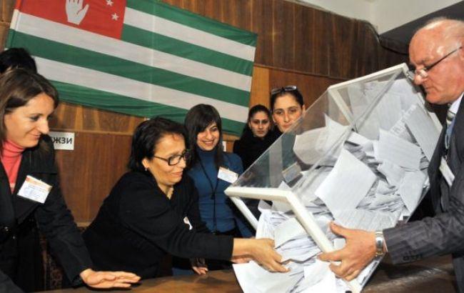 Фото: парламентські вибори в Абхазії