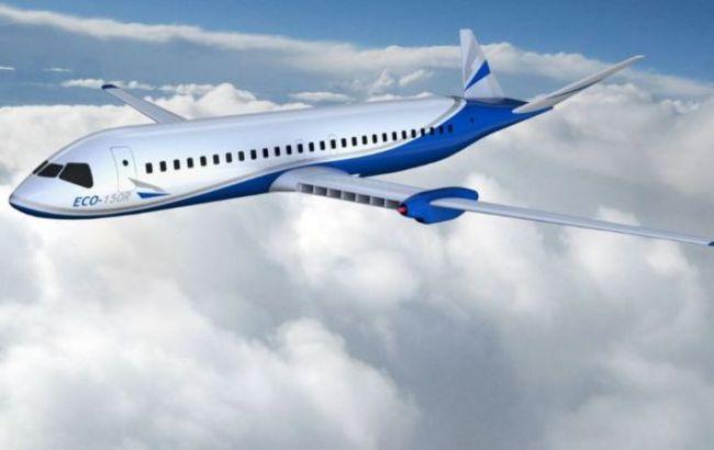 Американский стартап начал разработку авиалайнера сэлектрическим мотором