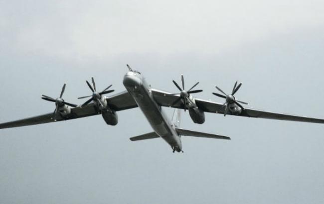 США перехватили русские бомбардировщики