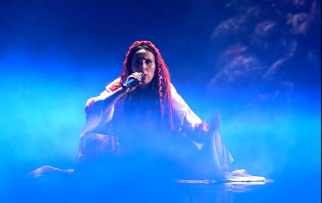 """Євробачення 2017: Джамала виконала пісню, написану з групою """"ДахаБраха"""""""