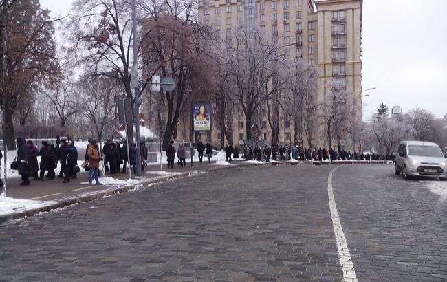 Фото: протесты в Киеве