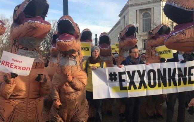 Фото: Протест в США
