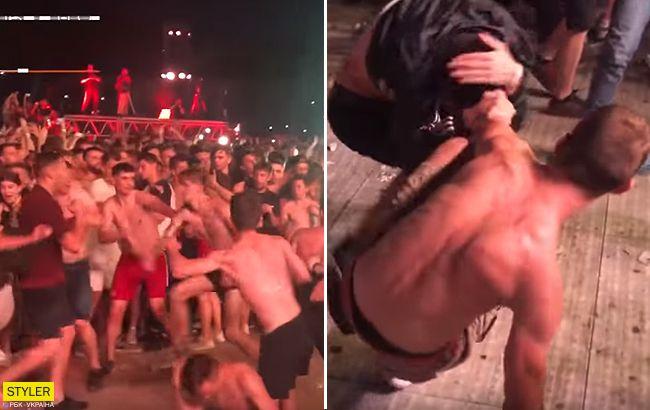 На концерті Макса Коржа у Києві влаштували масову бійку (відео)