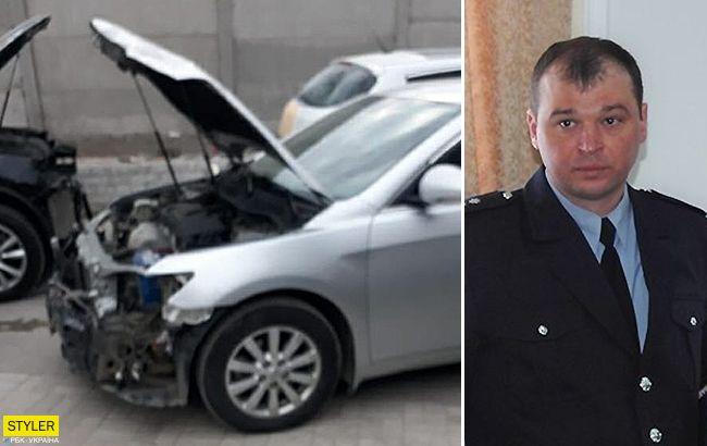 ВЗапорожье полковника полиции уличили в пьяном ДТП: дело хотят замять