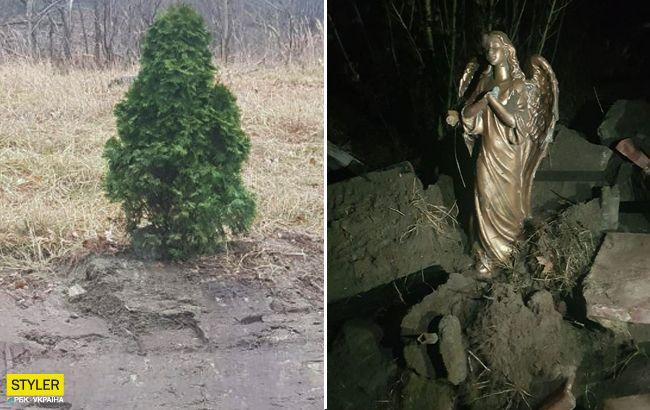 Викинув меморіал Героям АТО на смітник: шокуючі дані про вандала