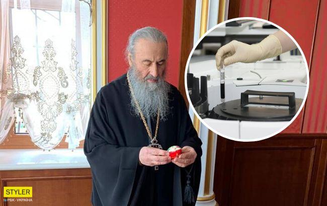 Хворий на коронавірус митрополит УПЦ МП буде проводити богослужіння