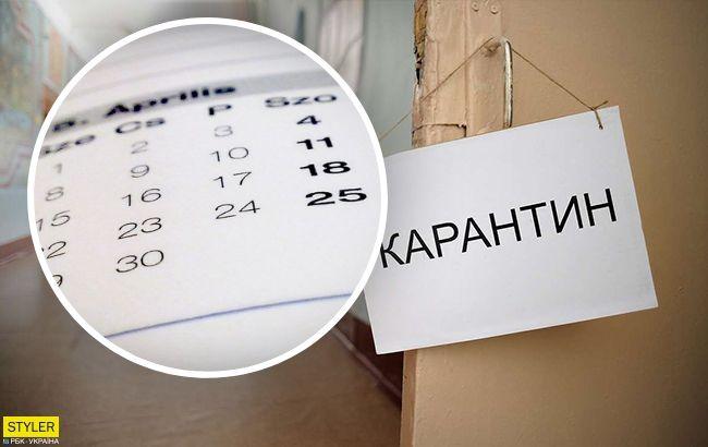 Карантин в Украине будет продлен: назначена дата первого снятия ограничений
