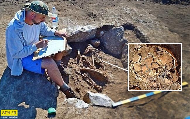 В Запорожской области нашли останки со следами древней хирургии