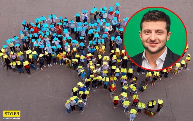 """""""У нас точно есть шанс"""": Зеленский поблагодарил украинцев за поддержку """"нашего флешмоба"""""""