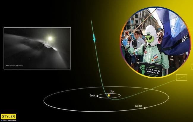 Астрономы обнаружили фрагмент инопланетного корабля (фото)