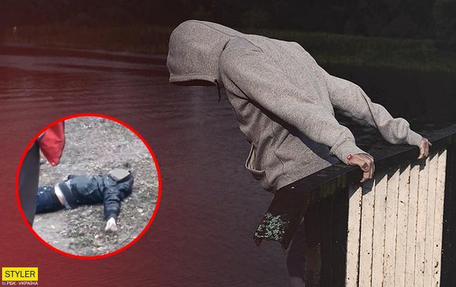 Суицид на Закарпатье: киевлянин бросился с 6-метрового моста